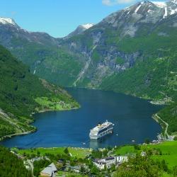 Norvég fjordok úticél hajóút