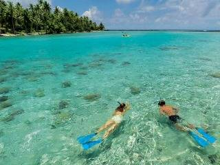 Bora Bora, Moorea, Huahine hajóút
